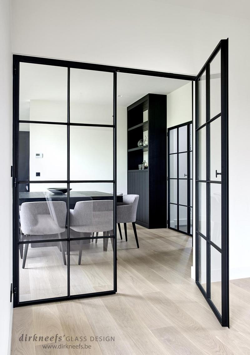 Smeedijzeren deuren dirk neefs glass design - Glazen salontafel en smeedijzer ...