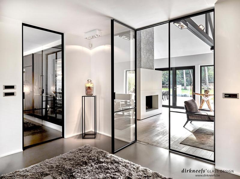 Smeedijzeren Deuren Dirk Neefs Glass Design